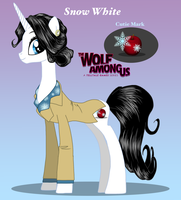 My Little Fable: The Wolf Among Us Snow White by NoxidamXV