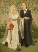 Fleur and Bill, the Wedding by cambium