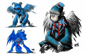 MONKEYS by RM73
