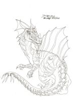 Steropesrex The Lightning King by RenDragonClaw