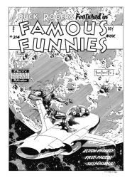 Famous Funnies #214 Cover Recreation by dalgoda7