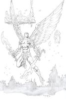 Winged Warrior by fernandomerlo