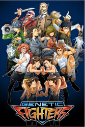 Genetics Figthers Anime Puzzle by darjacu