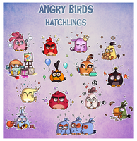 Angry Hatchlings by AngryBirdsArtist