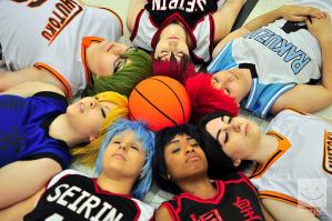 Kuroko and Friends by CeruleanTwin