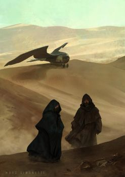 Corpse in the desert. by MarcSimonetti