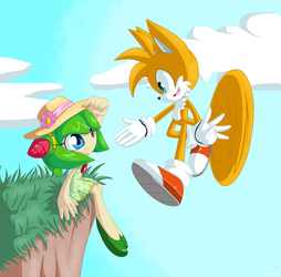 Tails and Cosmo by Tataina8