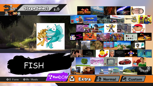 Smash brothers for nintendo switch stage leaks by MmWetWipes