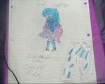 Violet Sapphire (Steven Universe OC Redesign) by WaterDraw