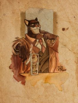 Blacksad by woxy