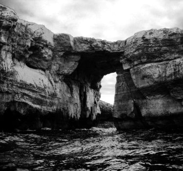 the Azure Window by loobyloukitty