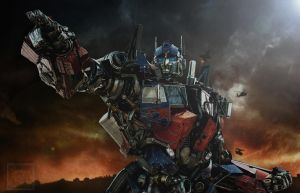 We will take the Battle to them - Optimus Prime by ElitaOneArts