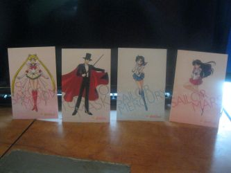 Sailor moon S cards set 1 front by starfire9467