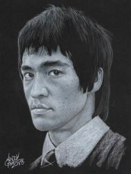 Bruce Lee2 by AndyGill1964