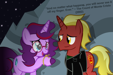 This Ring Never Leaves Commission by Lightning-Bliss