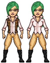 Wasteland Paradise: Dot Watson, 4th outfit by SpectorKnight