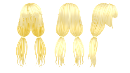[MMD] Artificial Academy 2 Hair download by Horiew