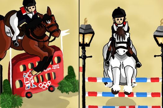 Olympics Equestrian - Show Jumping by GreatestAllie