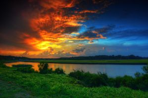 Southern Skies by Enkphoto