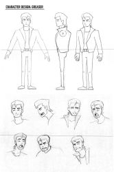 Character Design: Greaser by kaithebox