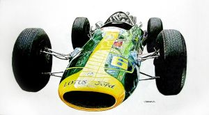Lotus 34 by johnwickart