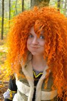 Merida Brave Video Backstage by shua-cosplay