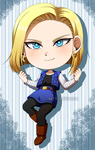 CM: Android 18 by adricarra