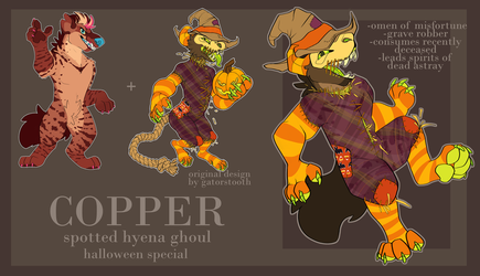 Ghoul Copper by cryptidcrocuta