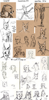 Sketchdump #9 by TitusWeiss