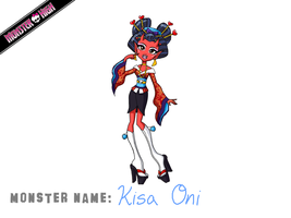 Monster High Contest Kisa Oni by Humanoid-Magpie