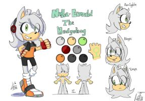 Nella Emerald The Hedgehog (REF) by Vallouh