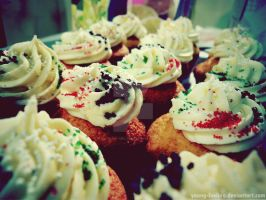 .Cupcakes Party. by young-feeling