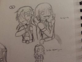 2.) Star and Seiko - Chaotic and Psychotic duo by YumenoNightraid