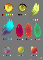 Misc Color Swatches by Overlord-Jinral