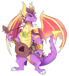 Artisan Spyro - Reignited Trilogy by cloudypouty