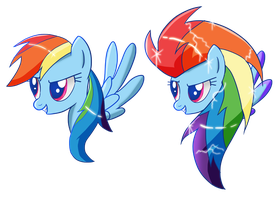 Rainbow Dash Shirt Desings by Ilona-the-Sinister