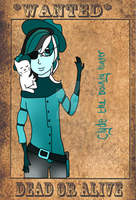 COM: Clyde the Bounty Hunter by SteampunkedInkling