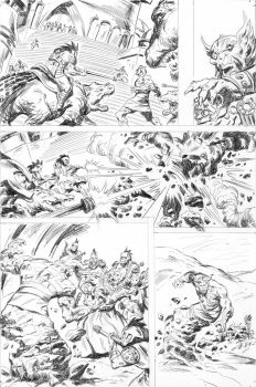 PEACE 4 - pencils by benitogallego