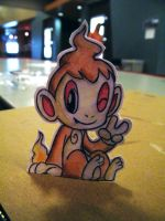 Paper Chimchar