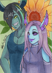 ACEO Payment: Unisamas 3/4 by Jyinxe