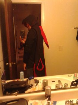 assassins creed hooded scarf full image side by TheLittleRaven