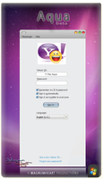 YM Themes : Mac OSX Aqua beta by MAGNUMHEARTED