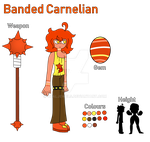 Banded Carnelian Reference Sheet UPDATED by DualJewels