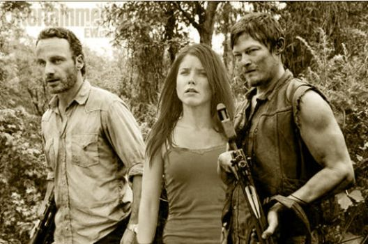 Rick, Brooke and Daryl (OTH/TWD) by THEIRLASTDANCE