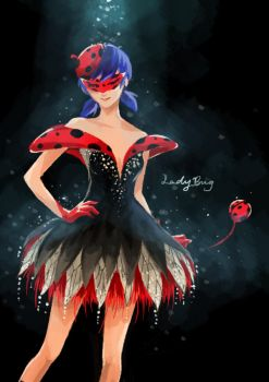A Dress for a Lady by Keyade