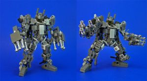 Lego - JR Weaponset B by Lalam24