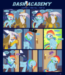 Dash Academy Chapter 7 - Free Fall #18 by SorcerusHorserus