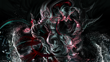 Dizzying Descent - KD Monster Preview by ensoul