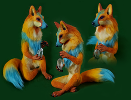 Mystic Dawn Fox FOR SALE by FeralFacade