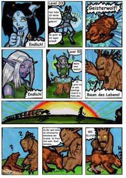 Druid owned by Shaman by moonstrueck